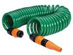 GF - waterslangen - kit spiraalslang en regelbare spuit en koppeling - D